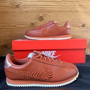 Nike Cortez Leather Basic PRM Embroided  Swoosh
